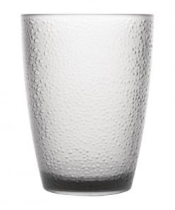 Kristallon Polycarbonate Tumbler Pebbled Clear 275ml
