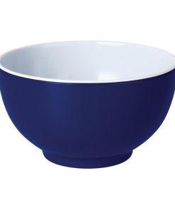 Kristallon Gala Colour Rim Melamine Bowl Blue 125mm