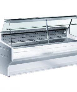 Zoin Hill Slimline Deli Serve Over Counter Chiller White 2500mm HL250B
