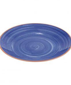 APS La Vida Melamine Plate Round Blue 320mm