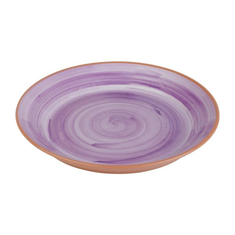 APS La Vida Melamine Plate Round Purple 320mm