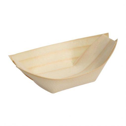 Fiesta Birch Wooden Boat 250mm