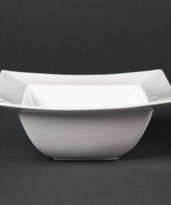 Lumina Wide Rimmed Square Bowls 165mm