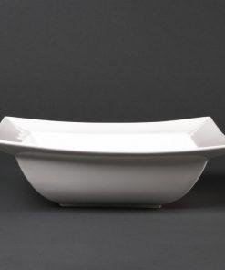 Lumina Wide Rimmed Square Bowls 260mm