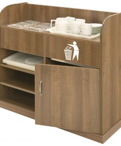 Deluxe Condiment Unit Walnut