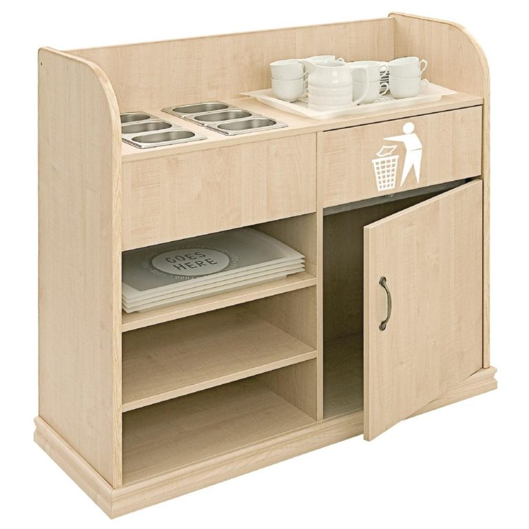 Deluxe Condiment Unit Maple