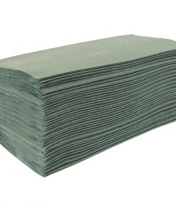 Jantex Z Fold Green Hand Towels 1Ply