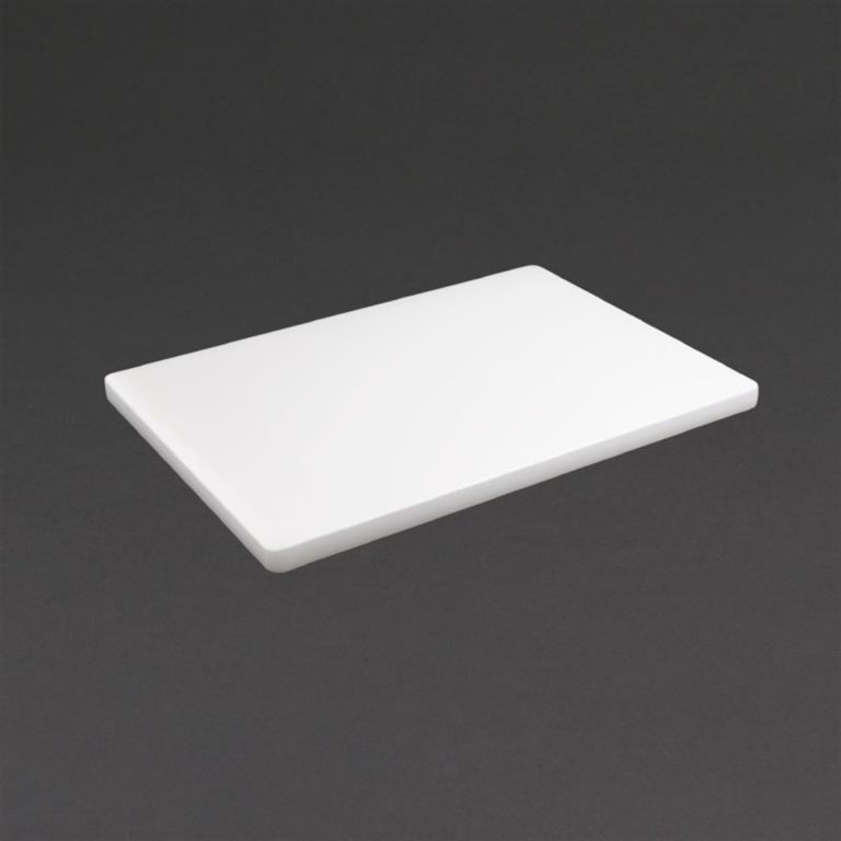 Hygiplas Extra Thick Low Density White Chopping Board