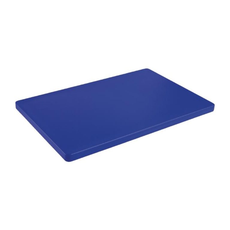 Hygiplas Extra Thick Low Density Blue Chopping Board
