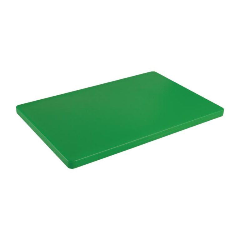 Hygiplas Extra Thick Low Density Green Chopping Board