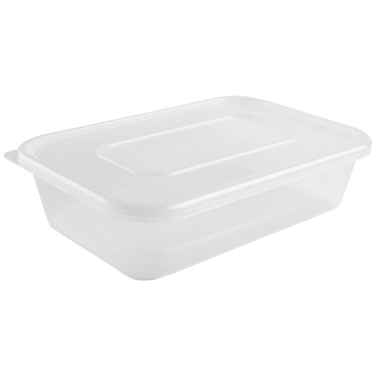 Small Plastic Microwave Container