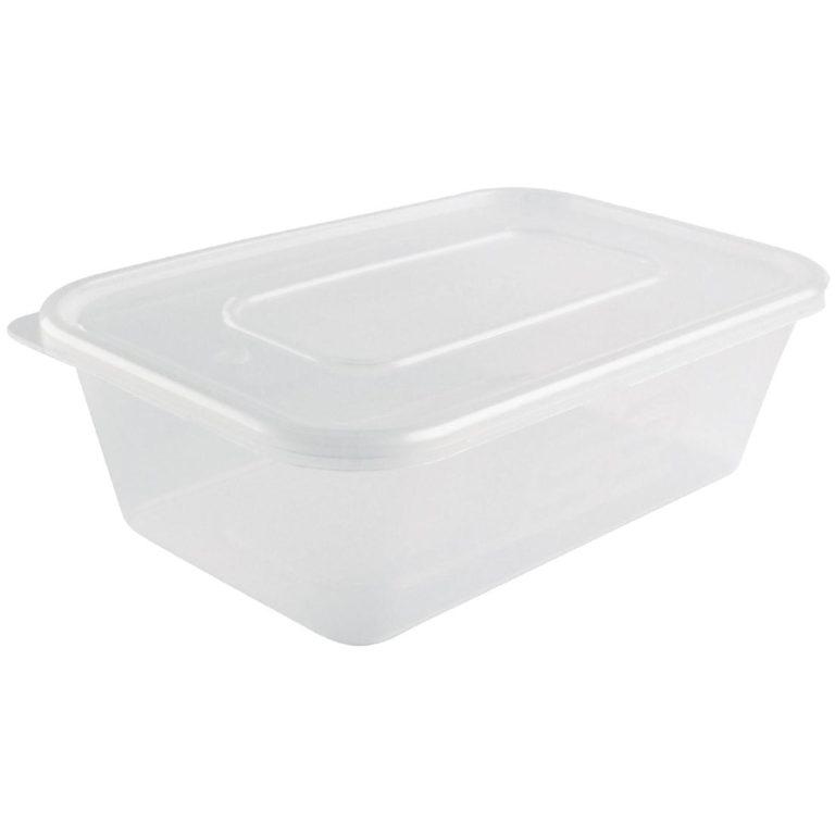Medium Plastic Microwave Container