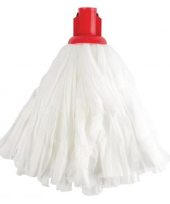 Jantex Standard Big White Socket Mop Red