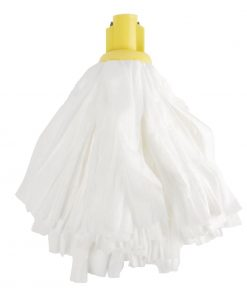 Jantex Standard Big White Socket Mop Yellow
