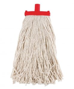 Jantex Prairie Kentucky Yarn Socket Mop Red