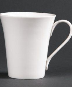 Lumina Fine China Flare Cups 285ml 10oz
