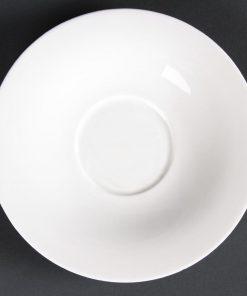 Lumina Fine China Saucers 165mm
