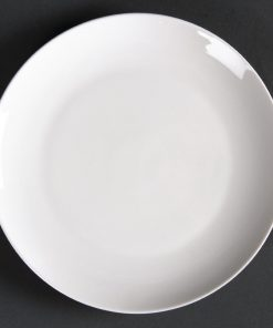 Lumina Fine China Round Coupe Plates 150mm