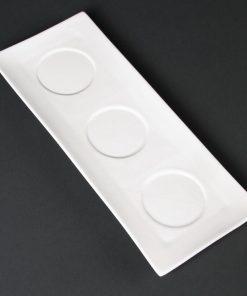 Lumina Fine China Platters 305x 120mm