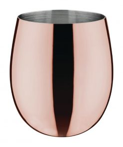 Olympia Curved Tumbler 340ml Copper