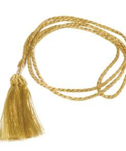 Gold Cord Menu Binding A5