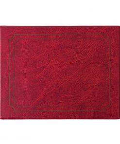 PVC Burgundy Place Mat