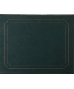 PVC Green Place Mat