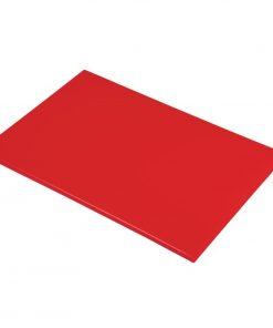 Hygiplas Anti Microbial High Density Red Chopping Board