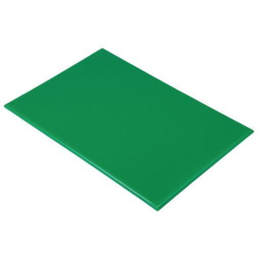 Hygiplas Anti Microbial High Density Green Chopping Board