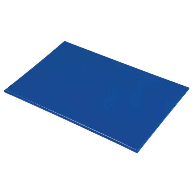 Hygiplas Anti Microbial High Density Blue Chopping Board
