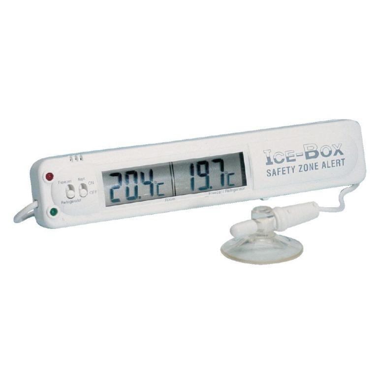 Hygiplas Fridge Freezer Thermometer With Alarm