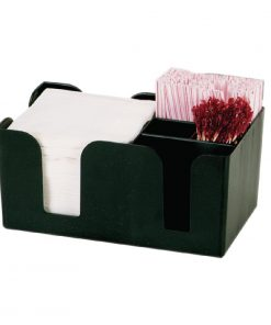 Kristallon Plastic Bar Caddy Black