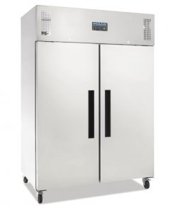 Polar Double Door Fridge Stainless Steel 1200Ltr