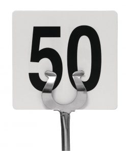 Plastic Table Number Inserts 1-50