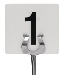 Plastic Table Numbers Inserts 1-25