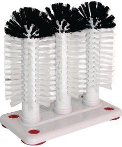 Jantex 3 Brush Manual Glasswasher