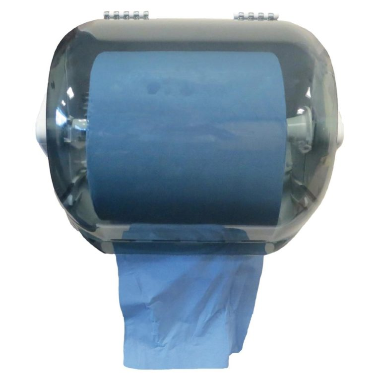 Jantex Plastic Blue Roll Dispenser