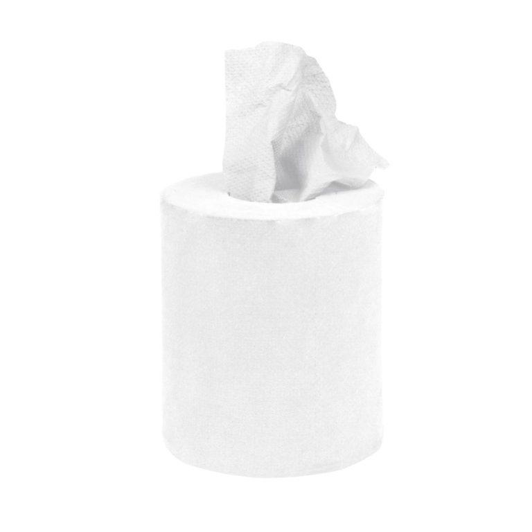 Jantex Mini Centrefeed White Roll 12 Pack