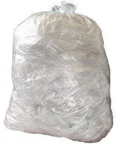 Jantex Medium Duty Clear Bin Bags 80 Litre Pack of 200