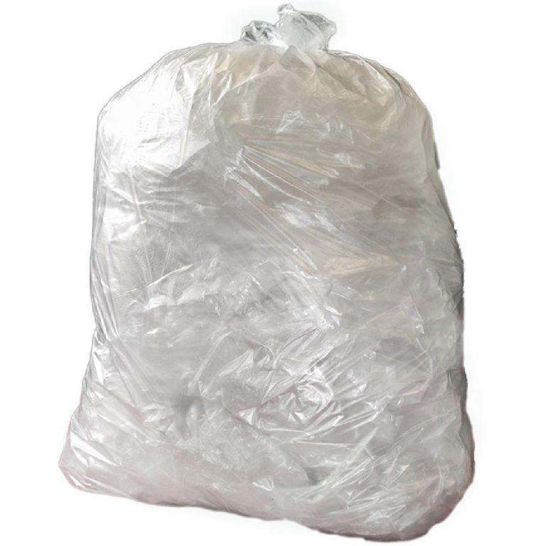 Jantex Heavy Duty Clear Bin Bags 80 Litre Pack of 200