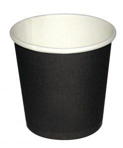 Fiesta Disposable Espresso Cups Black 112ml / 4oz x 1000