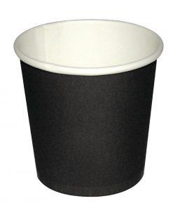 Fiesta Disposable Espresso Cups Black 112ml / 4oz x 50