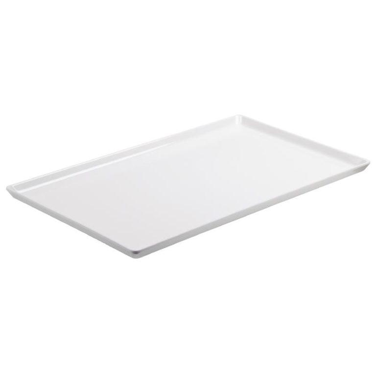 APS Float White Melamine Tray GN 1/1