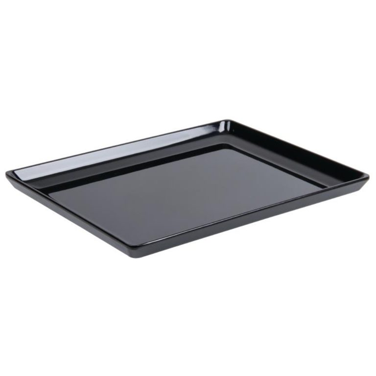 APS Float Black Melamine Tray GN 1/2