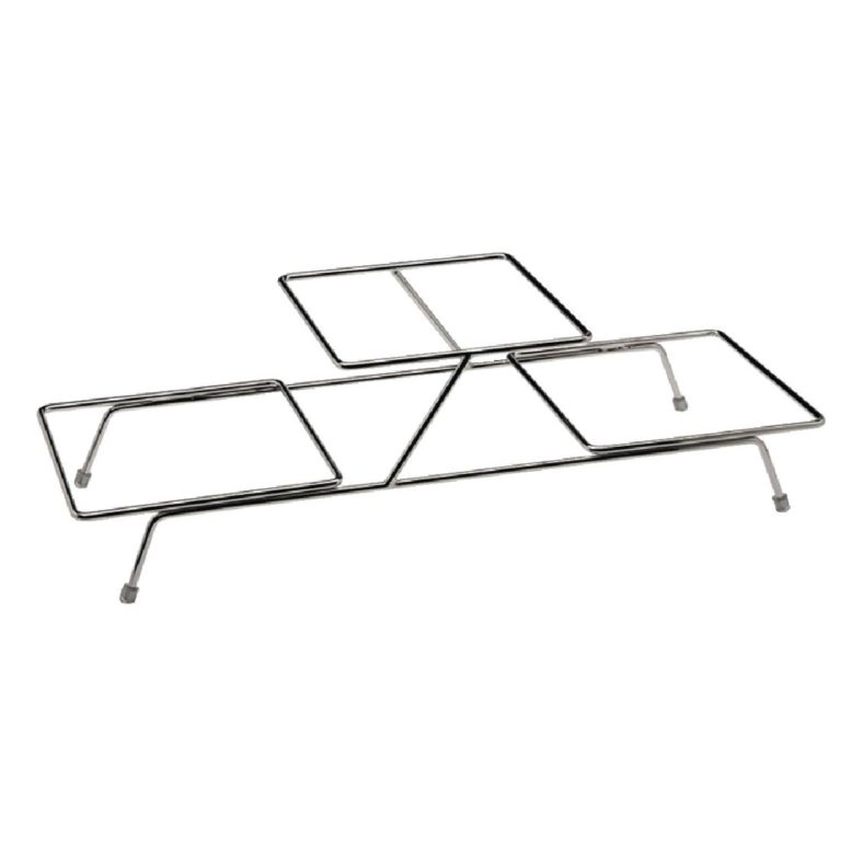 APS Float Chrome 3 Bowl Stand