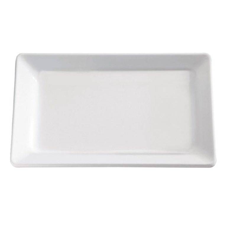 APS Pure White Melamine Tray GN 1/2