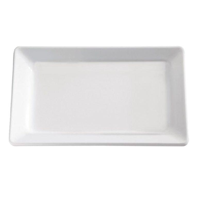 APS Pure White Melamine Tray GN 2/4