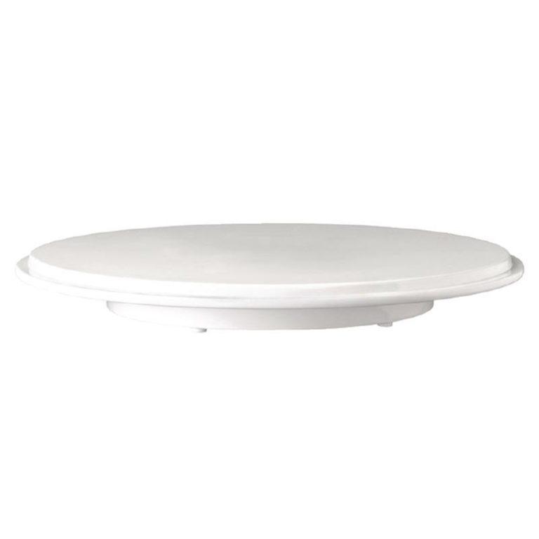 APS Pure Melamine White Cake Platter
