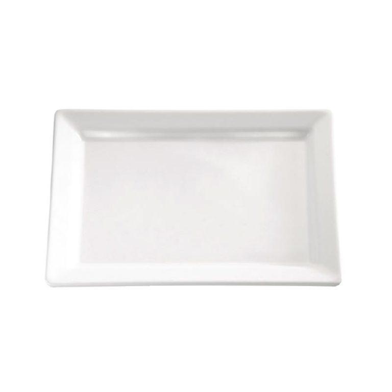 APS Pure Melamine Rectangular Tray 12in