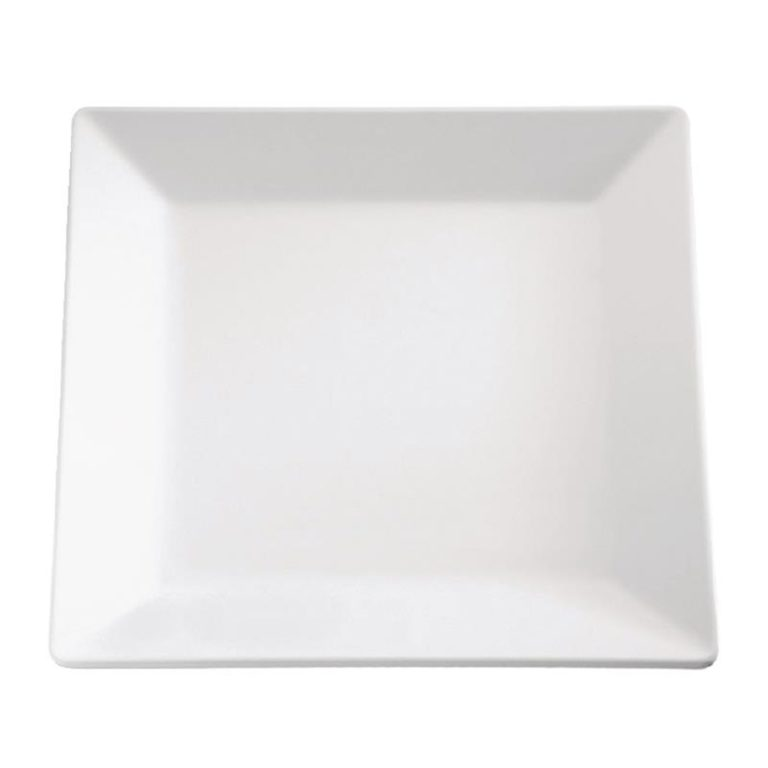 APS Pure Melamine Square Tray 7in